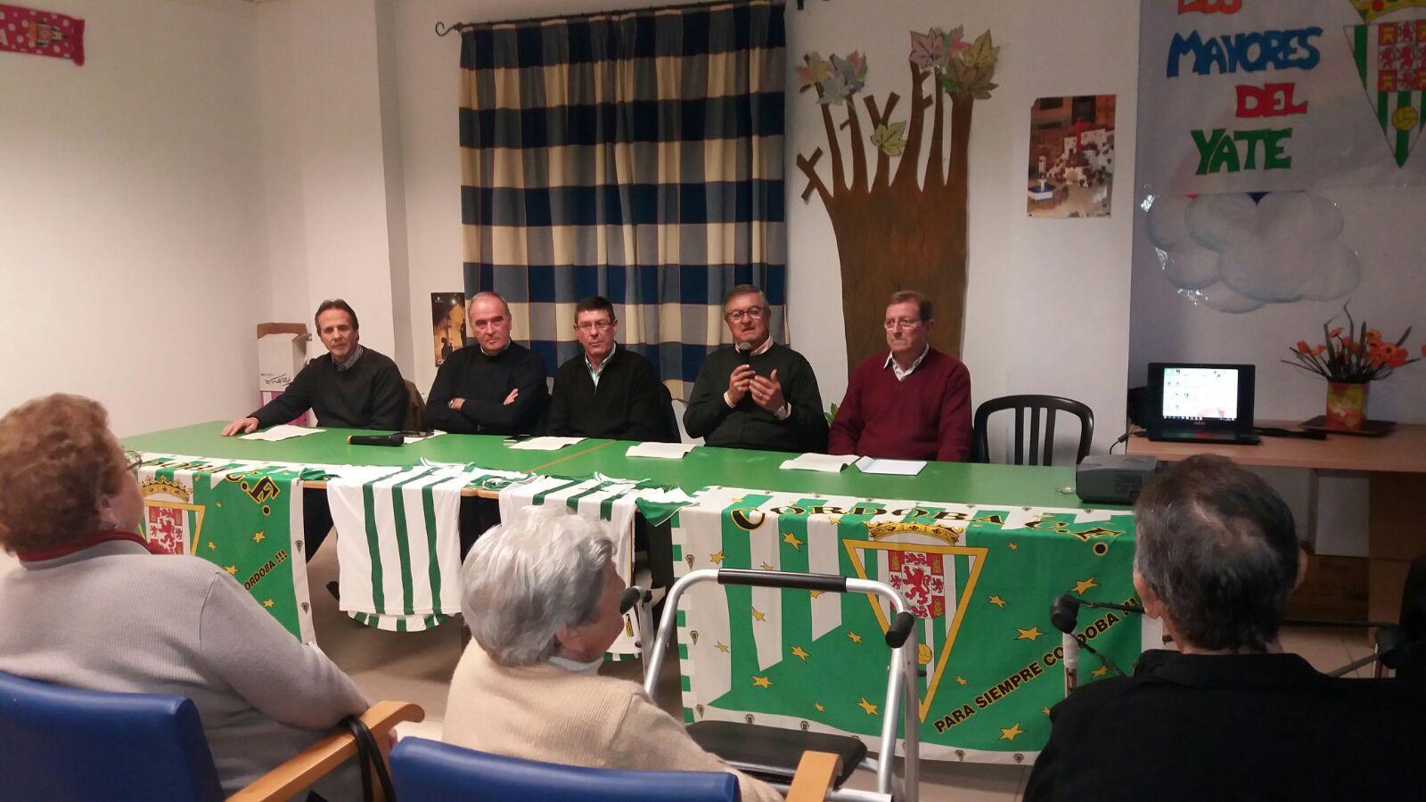 Veteranos Córdoba CF en Residencia El Yate