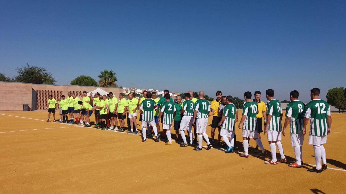 Partido En San Sebastian De Los Ballesteros Veteranos Cordoba C F